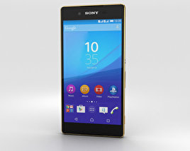 3D model of Sony Xperia Z4 Copper