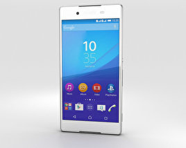 3D model of Sony Xperia Z4 White