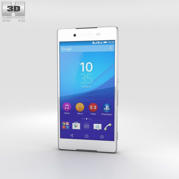 Sony Xperia Z4 White 3D model