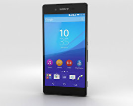 3D model of Sony Xperia Z4 Black