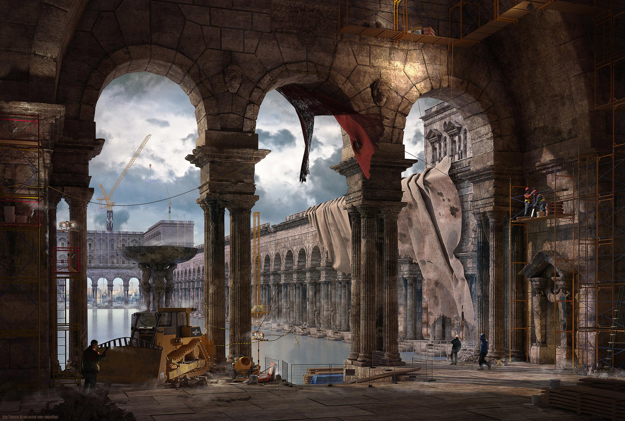 Restoration 3d art