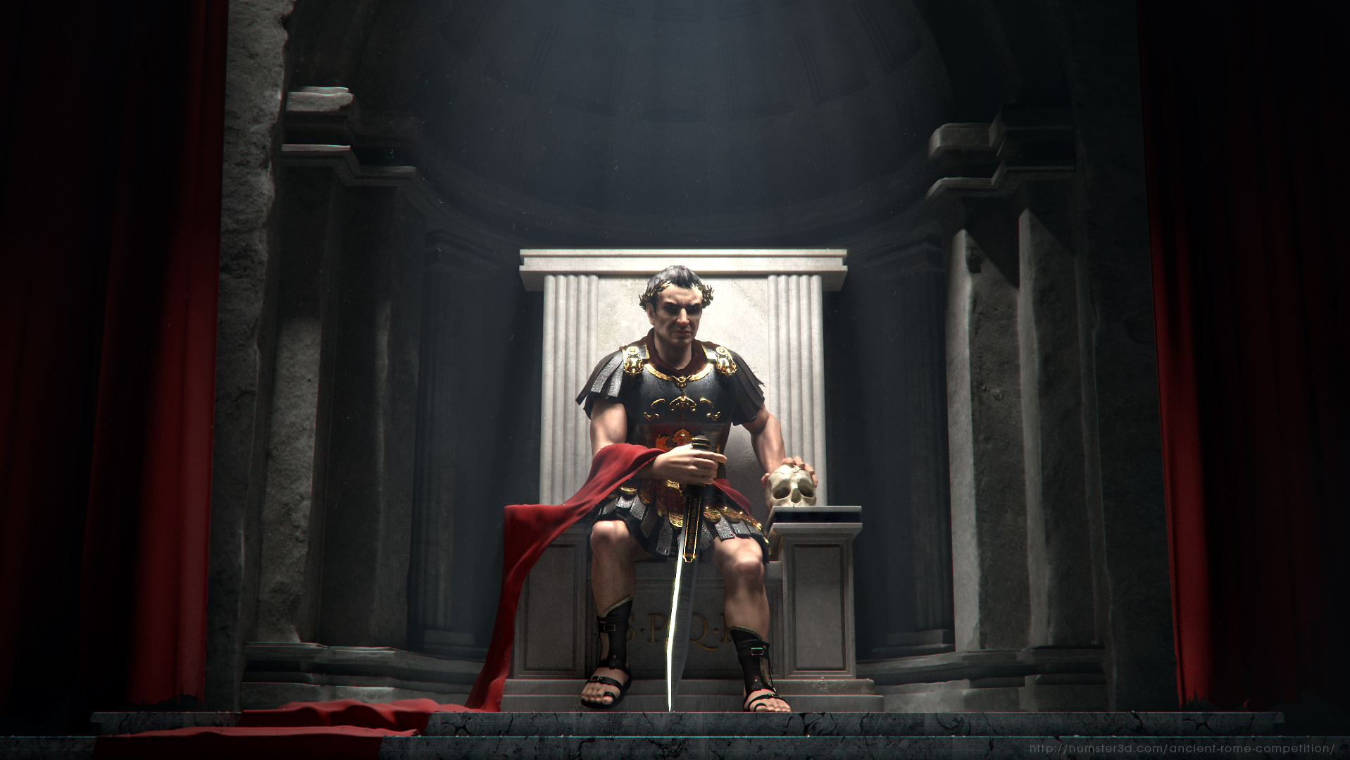 Romulus: Blood and Marble 3d art