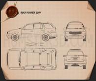 Buick Rainier 2004 Blueprint