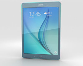 3D model of Samsung Galaxy Tab A 9.7 Smoky Blue