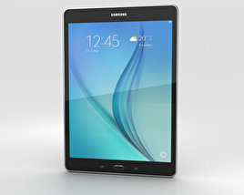 3D model of Samsung Galaxy Tab A 9.7 Smoky Titanium