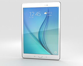 3D model of Samsung Galaxy Tab A 9.7 White
