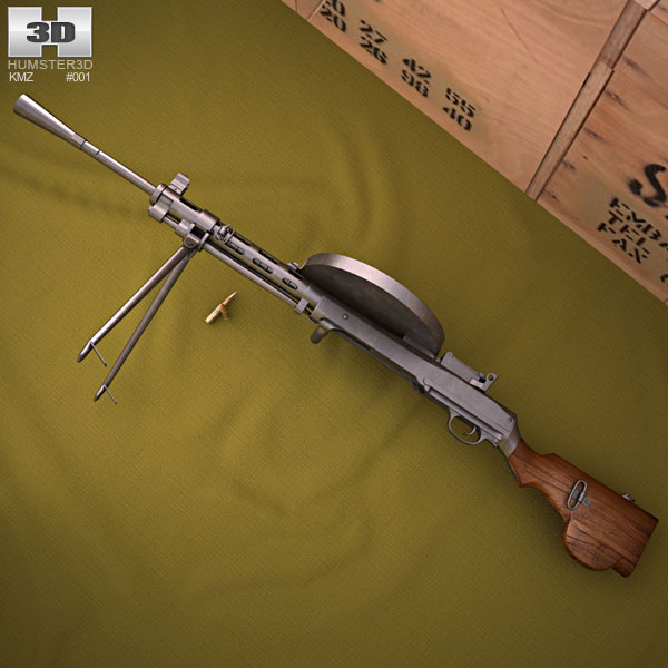 3D model of DP-27
