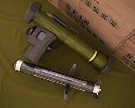 3D model of FGM-148 Javelin