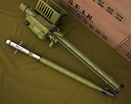 3D model of FIM-92 Stinger