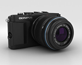 3D model of Olympus PEN E-PL5 Black