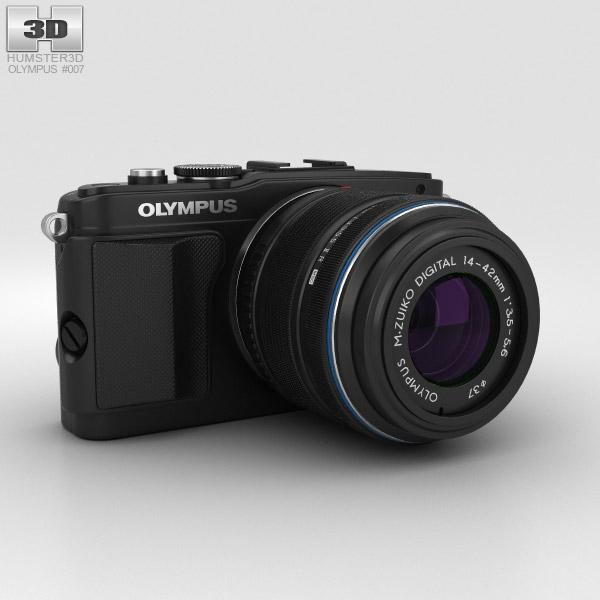Olympus PEN E-PL5 Schwarz 3D-Modell