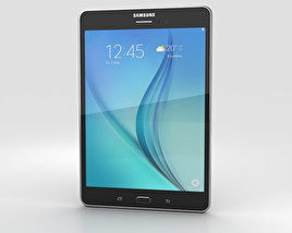 3D model of Samsung Galaxy Tab A 8.0 Smoky Titanium