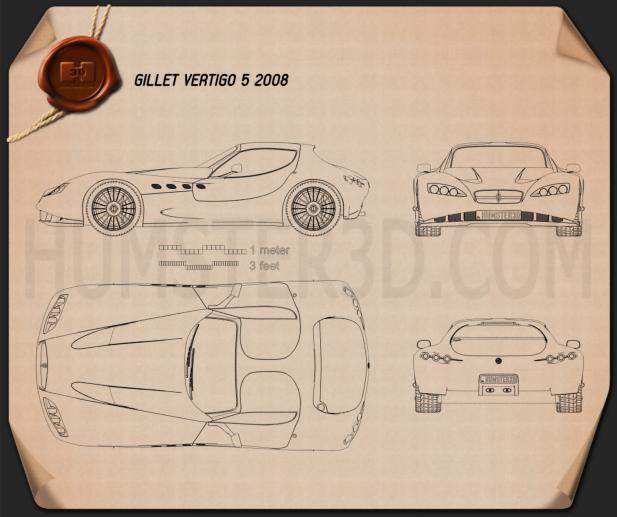 Gillet Vertigo 5 2008 Blueprint