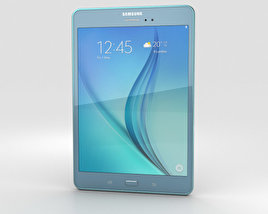 3D model of Samsung Galaxy Tab A 8.0 Smoky Blue