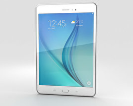 3D model of Samsung Galaxy Tab A 8.0 White
