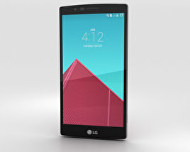 3D model of LG G4 Leather Red