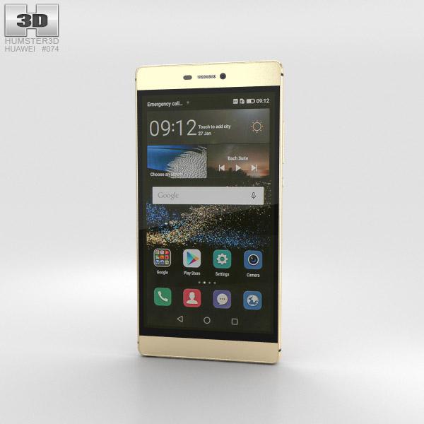 Huawei P8 Prestige Gold 3D model