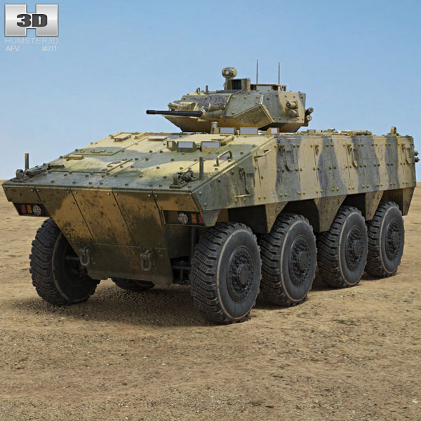 VBCI Infantry Fighting Vehicle 3D model