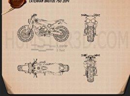 Caterham Brutus 750 2014 Blueprint