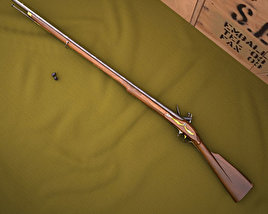 3D model of Brown Bess (Land Pattern Musket)