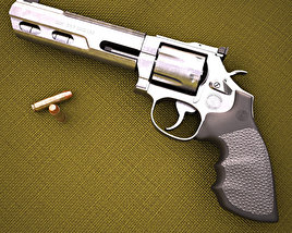 Smith & Wesson Model 686 3D model