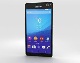 3D model of Sony Xperia C4 Mint