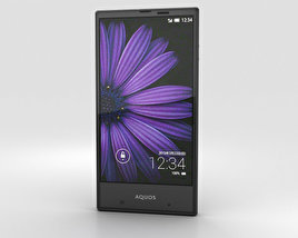 3D model of Sharp Aquos Serie mini SHV31 Black