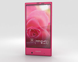 3D model of Sharp Aquos Serie mini SHV31 Pink