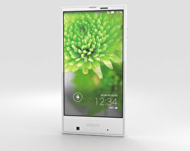 3D model of Sharp Aquos Serie mini SHV31 White