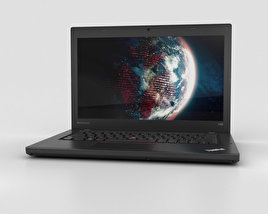 3D model of Lenovo Thinkpad T450
