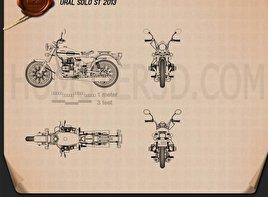 Ural Solo sT 2013 Blueprint