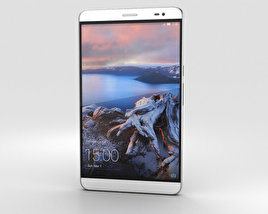 3D model of Huawei MediaPad X2 Moonlight Silver