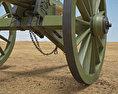 Model 1857 12-Pounder Napoleon 3d model