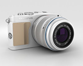 3D model of Olympus PEN E-PL5 White