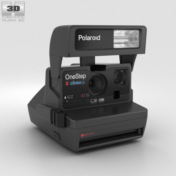 Polaroid OneStep 600 3D model