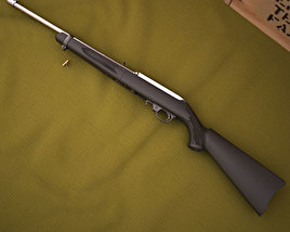 3D model of Ruger 10/22 Takedown