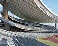 Ataturk Olympic Stadium 3d model