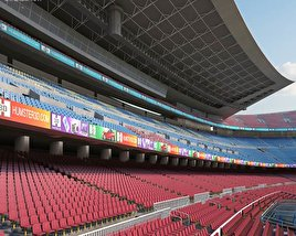 3D model of Camp Nou