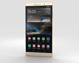 Huawei P8max Luxurious Gold 3D model
