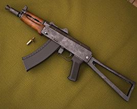 3D model of AKS-74U