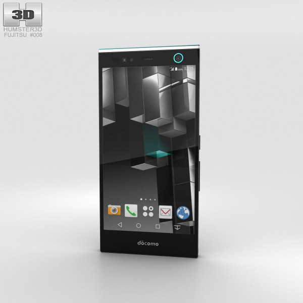 Fujitsu Arrows NX F-04G Black 3D model