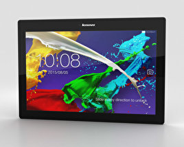 3D model of Lenovo Tab 2 A10-70 Midnight Blue