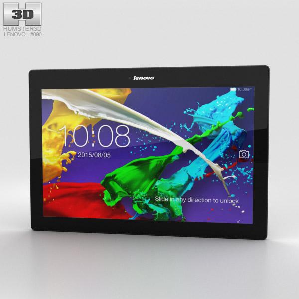 Lenovo Tab 2 A10-70 Midnight Blue 3D model