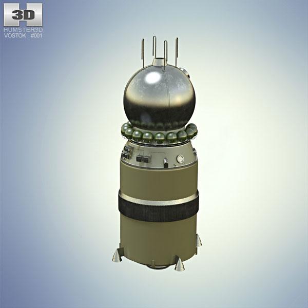 Vostok 1 3D model