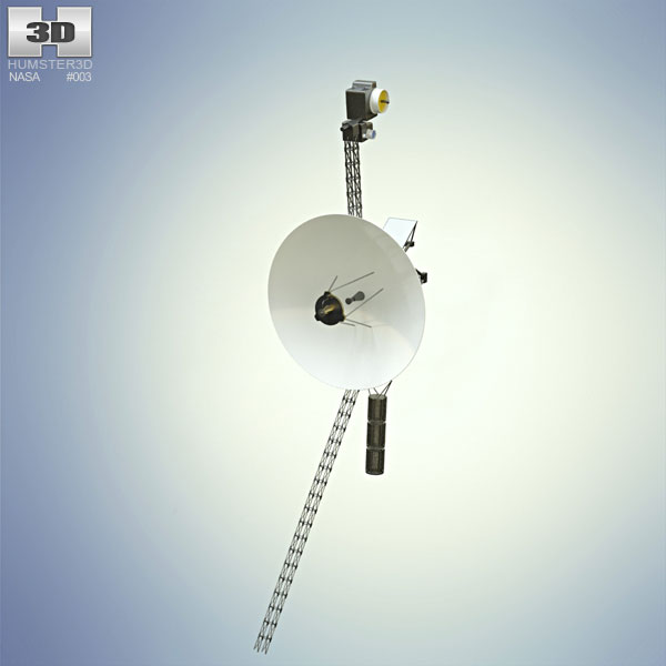 3D model of Voyager 1
