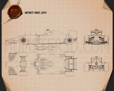 Infiniti RB10 2014 Blueprint