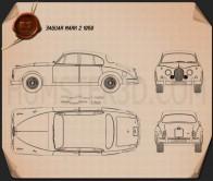 Jaguar Mark 2 1959-1967 Blueprint