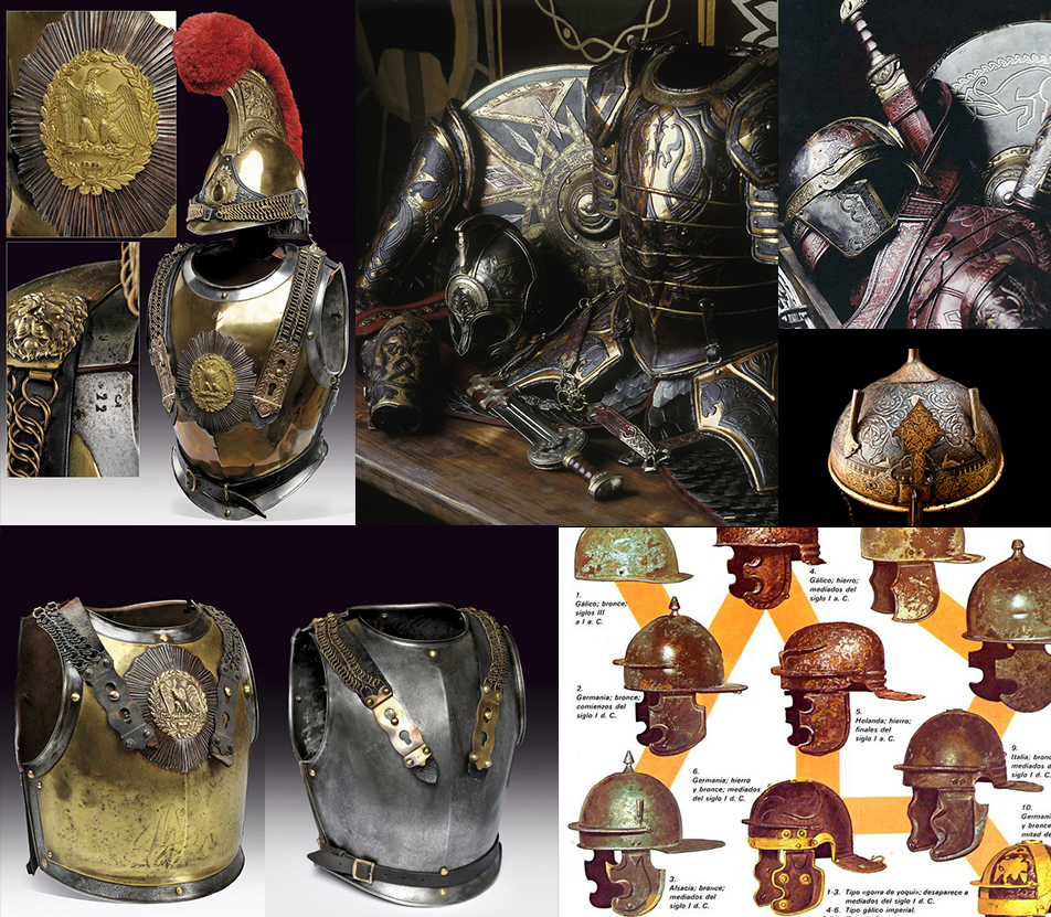 Rome armor reference