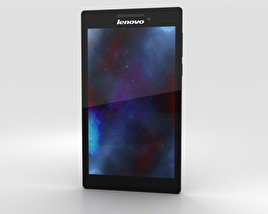 Lenovo Tab 2 A7-10 Black 3D model