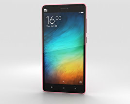 3D model of Xiaomi Mi 4i Pink